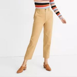 Madewell Tapered Pants size 29 in Desert Dune